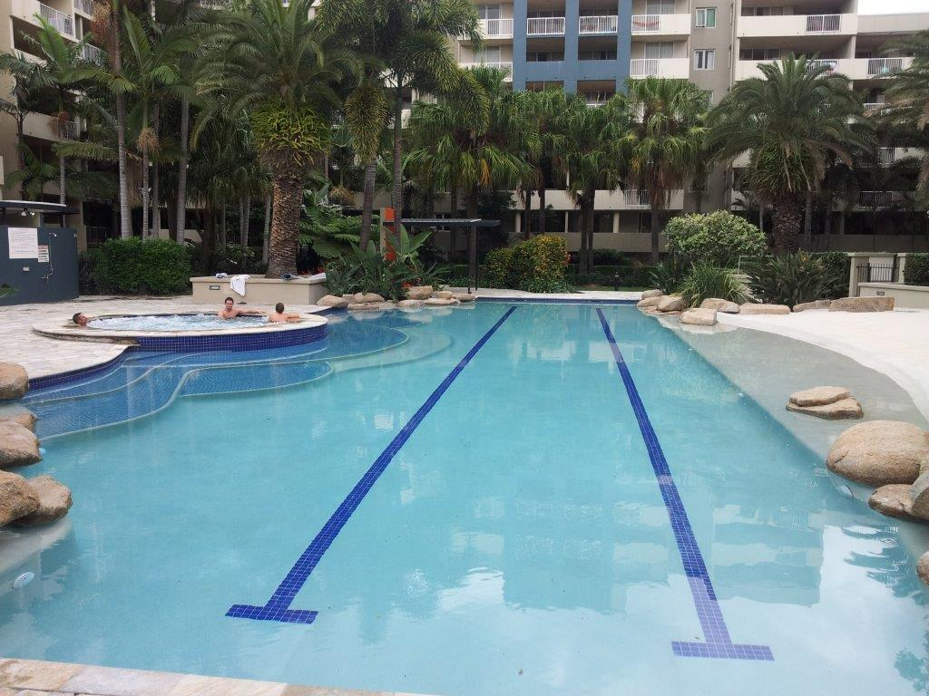 Fortitude Valley Commercial Pool and Spa Restoration - Complete